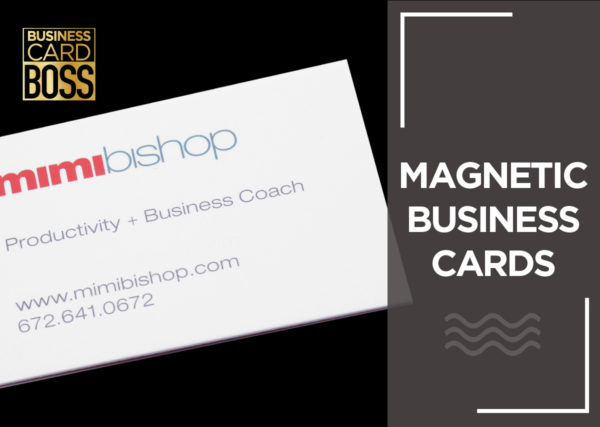 MAGNETIC BUSINESS CARDS
