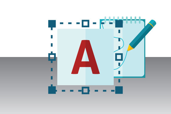 text-graphics-design